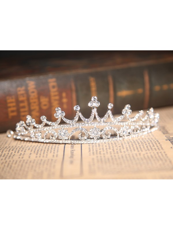 Stunning Alloy Clear Crystals Wedding Headpieces